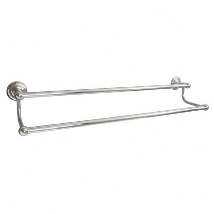 Miller Richmond Chrome Double Towel Rail 650mm